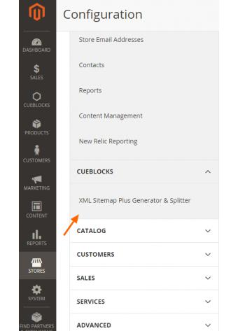 XML Sitemap Plus Generator & Splitter Configuration