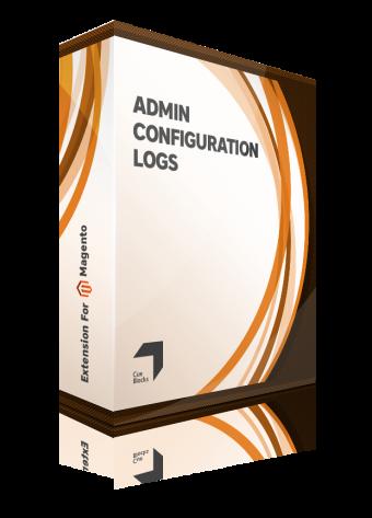 Admin Configuration logs