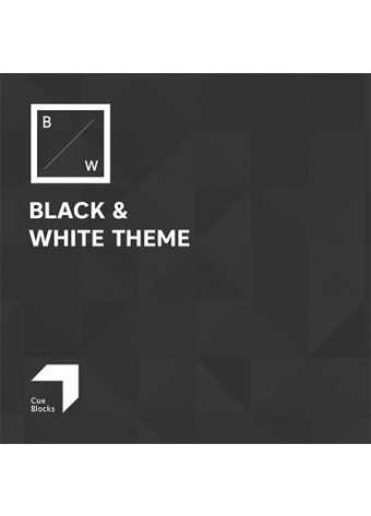 Black & White Theme Preview