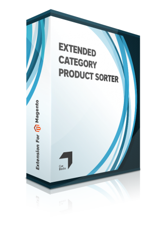 Extended category product sorter