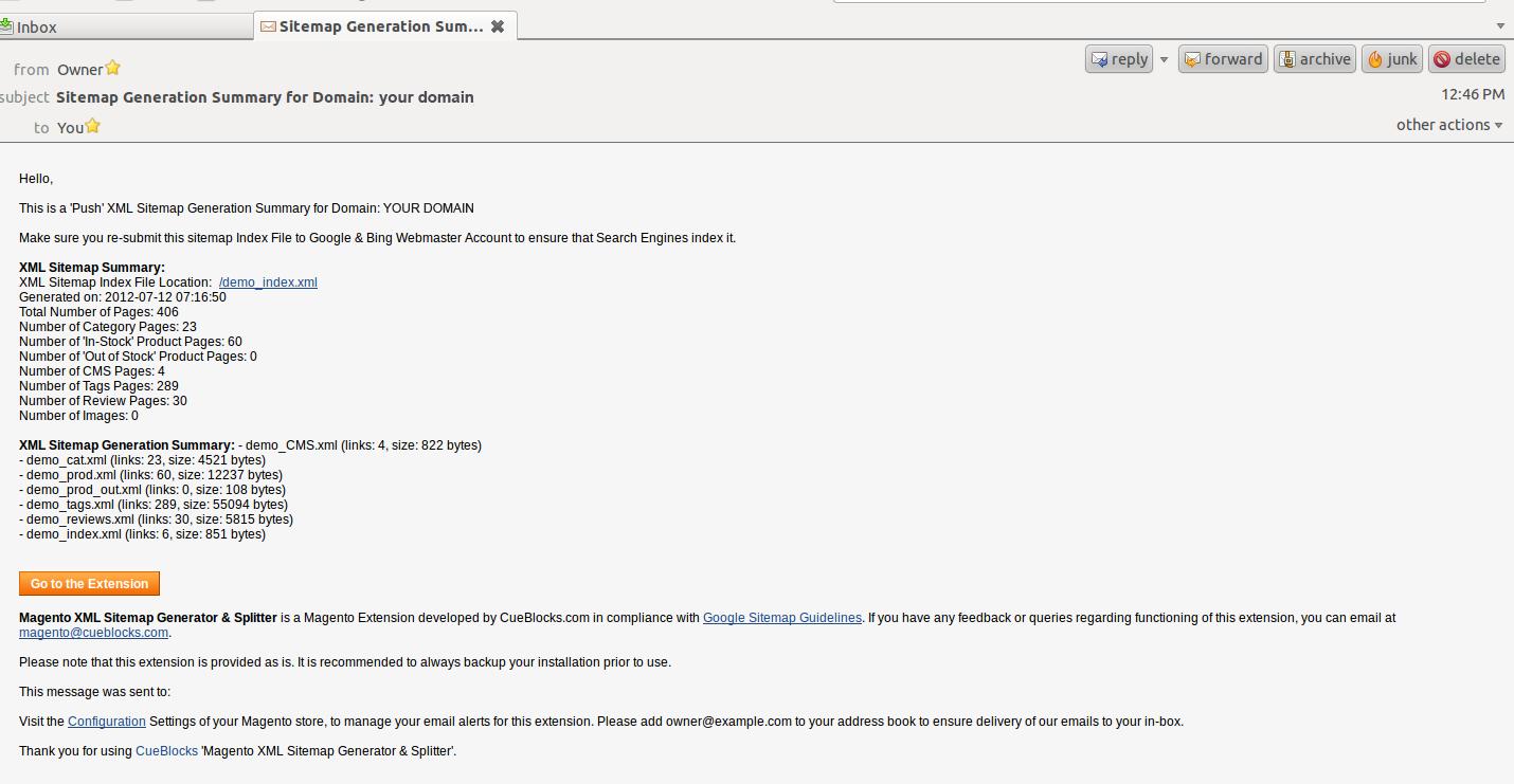 magento community enterprise edition of xml sitemap generator